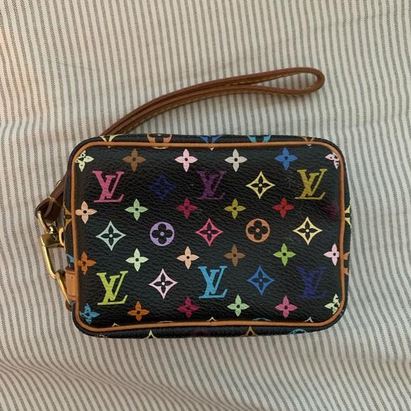 Louis Vuitton Handbags - LOUIS VUITTON MULTICOLORE WAPITY WRISTLET MURAKAMI